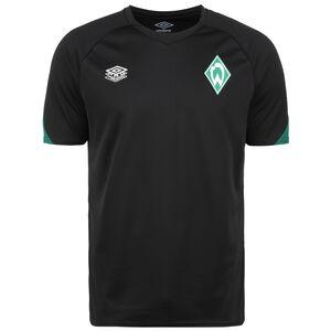 SV Werder Bremen Trainingsshirt Herren, schwarz / grün, zoom bei OUTFITTER Online