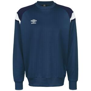 Poly Fleece Trainingssweat Herren, dunkelblau / weiß, zoom bei OUTFITTER Online