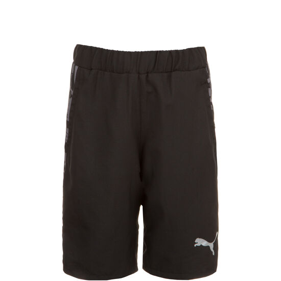 Active Sports AOP Woven Trainingsshort Kinder, schwarz, zoom bei OUTFITTER Online
