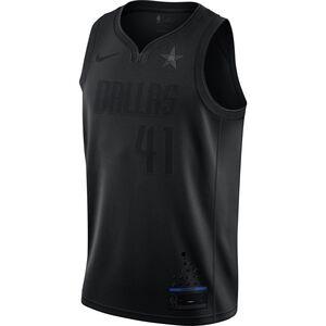 NBA Dirk Nowitzki MVP Basketballtrikot Herren, schwarz, zoom bei OUTFITTER Online