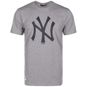 MLB New York Yankees Seasonal Team Logo T-Shirt Herren, grau / schwarz, zoom bei OUTFITTER Online