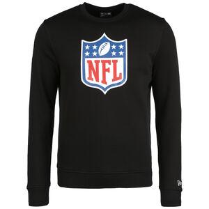 NFL Crew Logo Sweatshirt Herren, schwarz / weiß, zoom bei OUTFITTER Online