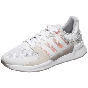 Run90s Sneaker Damen, weiß / korall, zoom bei OUTFITTER Online