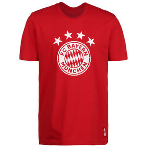 FC Bayern München DNA Graphic T-Shirt, rot / weiß, zoom bei OUTFITTER Online
