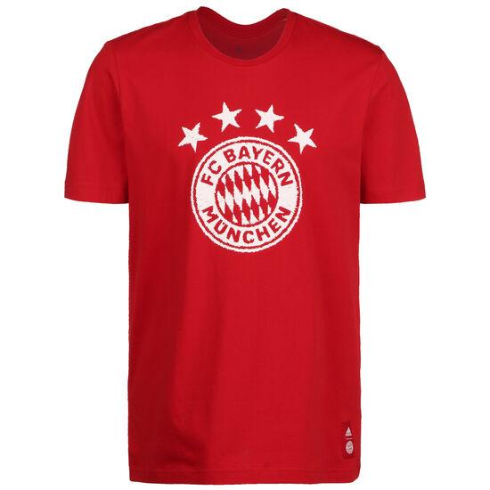 FC Bayern München DNA Graphic T-Shirt, rot / weiß, zoom bei OUTFITTER Online