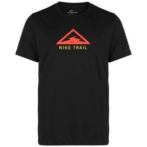 Dry Trail Laufshirt Herren, schwarz / rot, zoom bei OUTFITTER Online