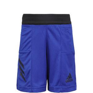 Sport 3-Stripes Basketballshort Kinder, blau, zoom bei OUTFITTER Online