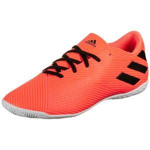 Nemeziz 19.4 Indoor Fußballschuh Herren, orange / schwarz, zoom bei OUTFITTER Online