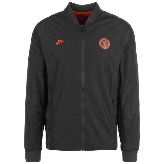 FC Chelsea Authentic Jacke Herren, anthrazit / orange, zoom bei OUTFITTER Online