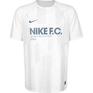 F.C. Fußballtrikot Herren, weiß / blau, zoom bei OUTFITTER Online
