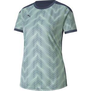 ftblNXT Graphic Trainingsshirt Damen, blau / mint, zoom bei OUTFITTER Online