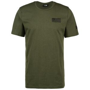 Outdoor Utility Graphic T-Shirt Herren, oliv / schwarz, zoom bei OUTFITTER Online