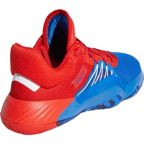 D.O.N. Issue 1 Basketballschuhe Herren, blau / rot, zoom bei OUTFITTER Online