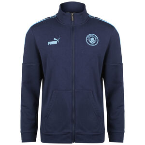 Manchester City ftblCulture Trainingsjacke Herren, dunkelblau / hellblau, zoom bei OUTFITTER Online