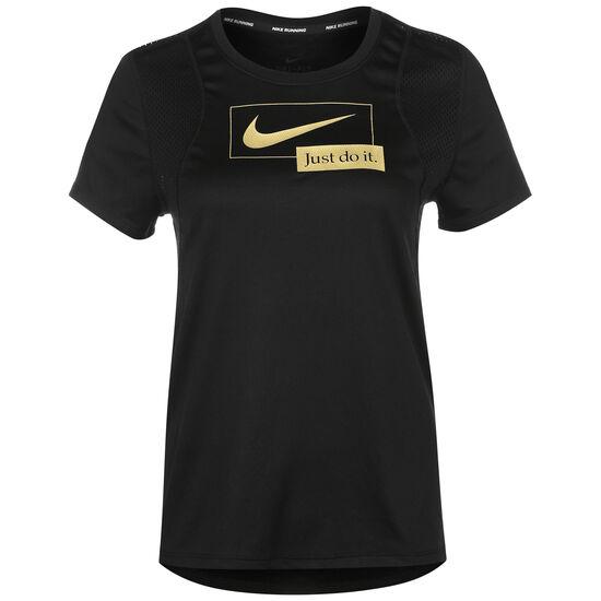 Icon Clash Laufshirt Damen, schwarz / gold, zoom bei OUTFITTER Online