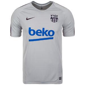 FC Barcelona Breathe Squad Trainingsshirt Herren, Grau, zoom bei OUTFITTER Online