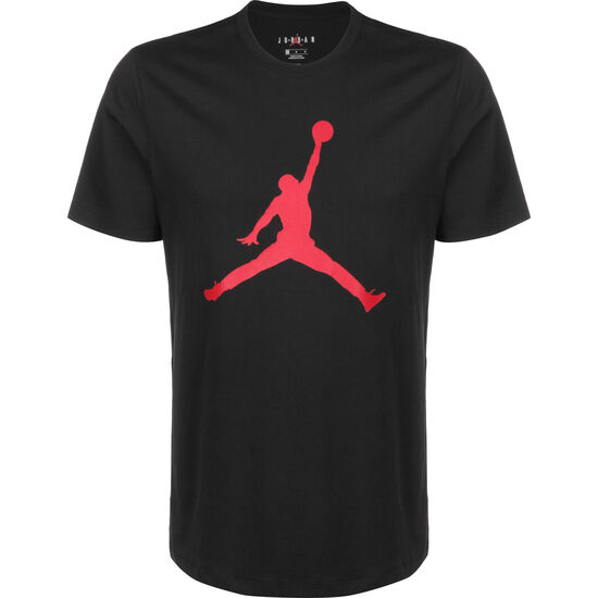 Jumpman Crew T-Shirt Herren, schwarz / rot, zoom bei OUTFITTER Online
