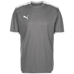 TeamLIGA Fußballtrikot Herren, grau / weiß, zoom bei OUTFITTER Online