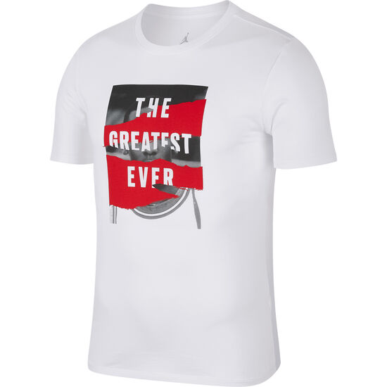 Jordan Sportswear Heritage T-Shirt Herren, weiß / rot, zoom bei OUTFITTER Online