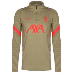 FC Liverpool Strike Drill Trainingssweat Herren, hellbraun / neonrot, zoom bei OUTFITTER Online