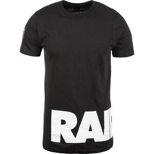 NFL Wrap Around Oakland Raiders T-Shirt Herren, schwarz, zoom bei OUTFITTER Online