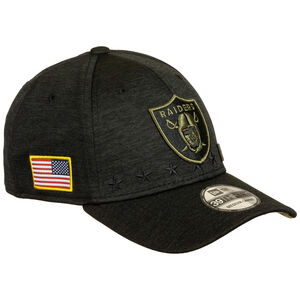 NFL Las Vegas Raiders 39Thirty Salute to Service Cap, schwarz / gold, zoom bei OUTFITTER Online