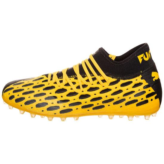 Future 5.2 NETFIT MG Fußballschuh Herren, gelb / schwarz, zoom bei OUTFITTER Online