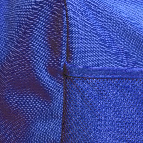 Tiro Duffel Large Fußballtasche, blau / weiß, zoom bei OUTFITTER Online