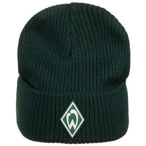 SV Werder Bremen Icon Beanie, dunkelgrün / weiß, zoom bei OUTFITTER Online