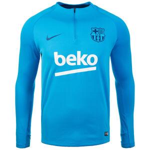 FC Barcelona Dry Squad Drill Trainingsshirt Herren, blau / weiß, zoom bei OUTFITTER Online