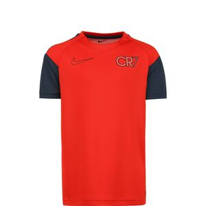 CR7 Dri-Fit Trainingsshirt Kinder, rot / schwarz, zoom bei OUTFITTER Online