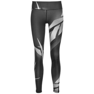 Meet You There Printed Trainingstight Damen, schwarz, zoom bei OUTFITTER Online