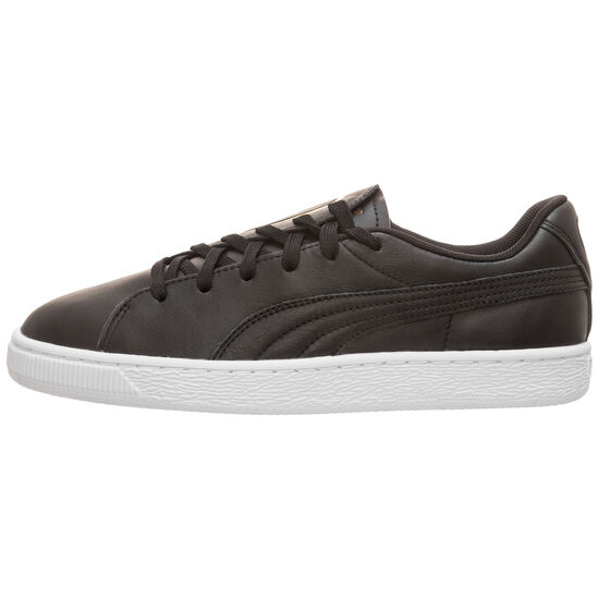 Basket Crush Emboss Sneaker Damen, schwarz / gold, zoom bei OUTFITTER Online