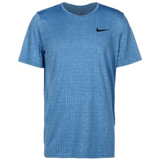 Superset Trainingsshirt Herren, blau / schwarz, zoom bei OUTFITTER Online