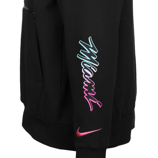 NBA Miami Heat City Edition Kapuzenpullover Herren, schwarz / blau, zoom bei OUTFITTER Online