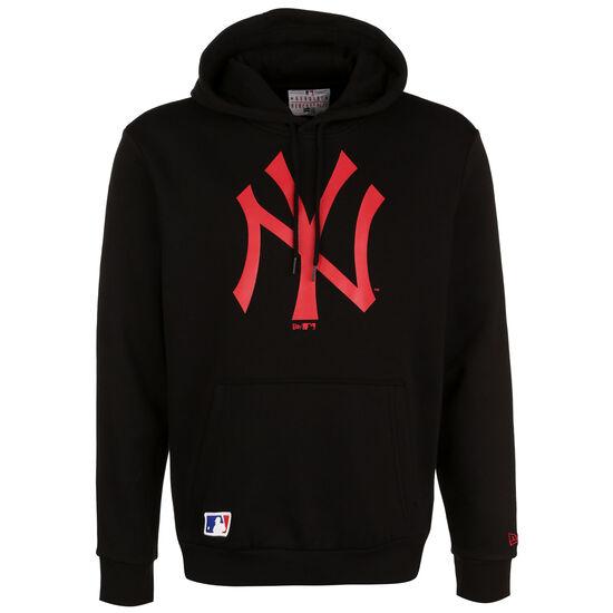 MLB New York Yankees Seasonal Team Logo Kapuzenpullover Herren, schwarz / rot, zoom bei OUTFITTER Online