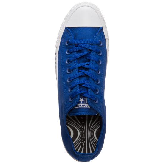 Chuck Taylor All Star OX Sneaker, blau / schwarz, zoom bei OUTFITTER Online