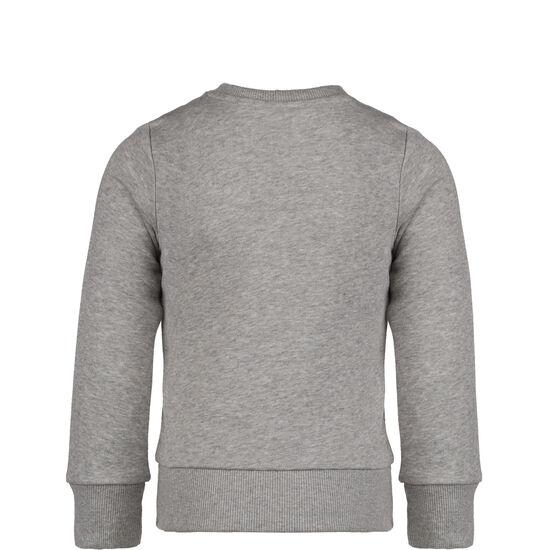 Essentials Linear Sweatshirt Kinder, grau / pink, zoom bei OUTFITTER Online