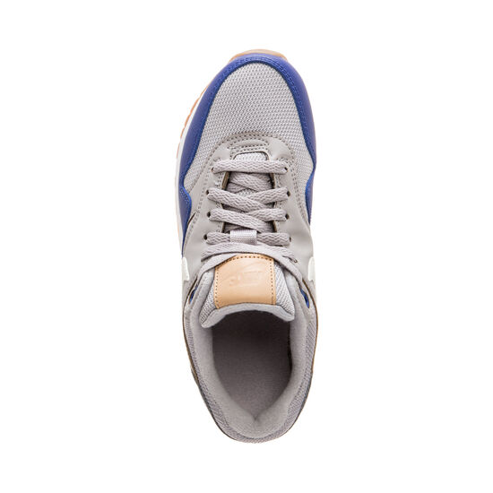 Air Max 1 Sneaker Kinder, grau / blau, zoom bei OUTFITTER Online