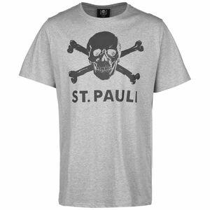 Totenkopf T-Shirt Herren, grau, zoom bei OUTFITTER Online