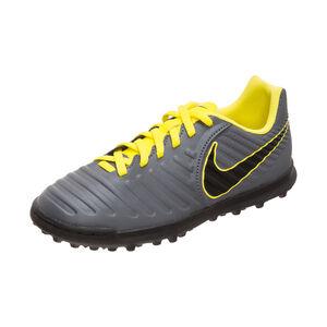 Tiempo Legend VII Club TF Fußballschuh Kinder, dunkelgrau / gelb, zoom bei OUTFITTER Online