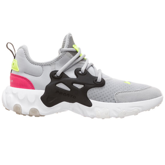 React Presto Sneaker Kinder, grau / pink, zoom bei OUTFITTER Online