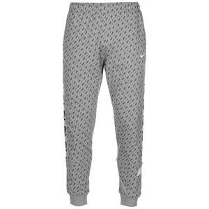 Repeat Fleece Jogginghose Herren, grau / weiß, zoom bei OUTFITTER Online
