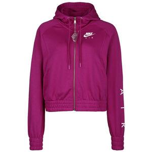 Air Fleece Kapuzensweatjacke Damen, pink / weiß, zoom bei OUTFITTER Online