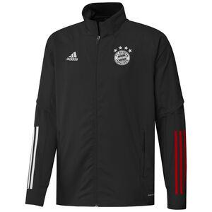 FC Bayern München Präsentationsjacke Herren, schwarz / rot, zoom bei OUTFITTER Online