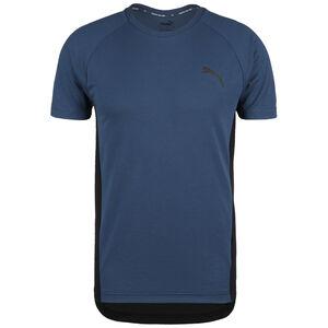 Evostripe Trainingsshirt Herren, dunkelblau / schwarz, zoom bei OUTFITTER Online