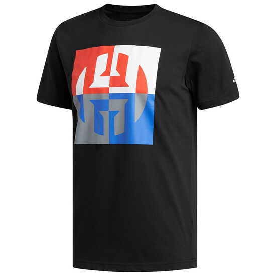Harden Logo T-Shirt Herren, schwarz / bunt, zoom bei OUTFITTER Online