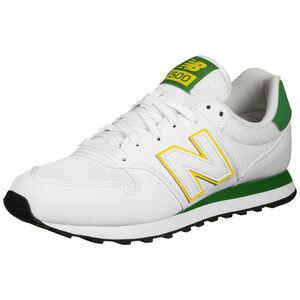 500 Sneaker Herren, weiß / grün, zoom bei OUTFITTER Online