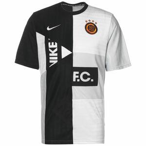 F.C. Home Fußballtrikot Herren, schwarz / hellgrau, zoom bei OUTFITTER Online