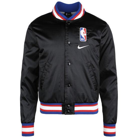 NBA Team 31 Courtside Jacke Herren, schwarz / rot, zoom bei OUTFITTER Online